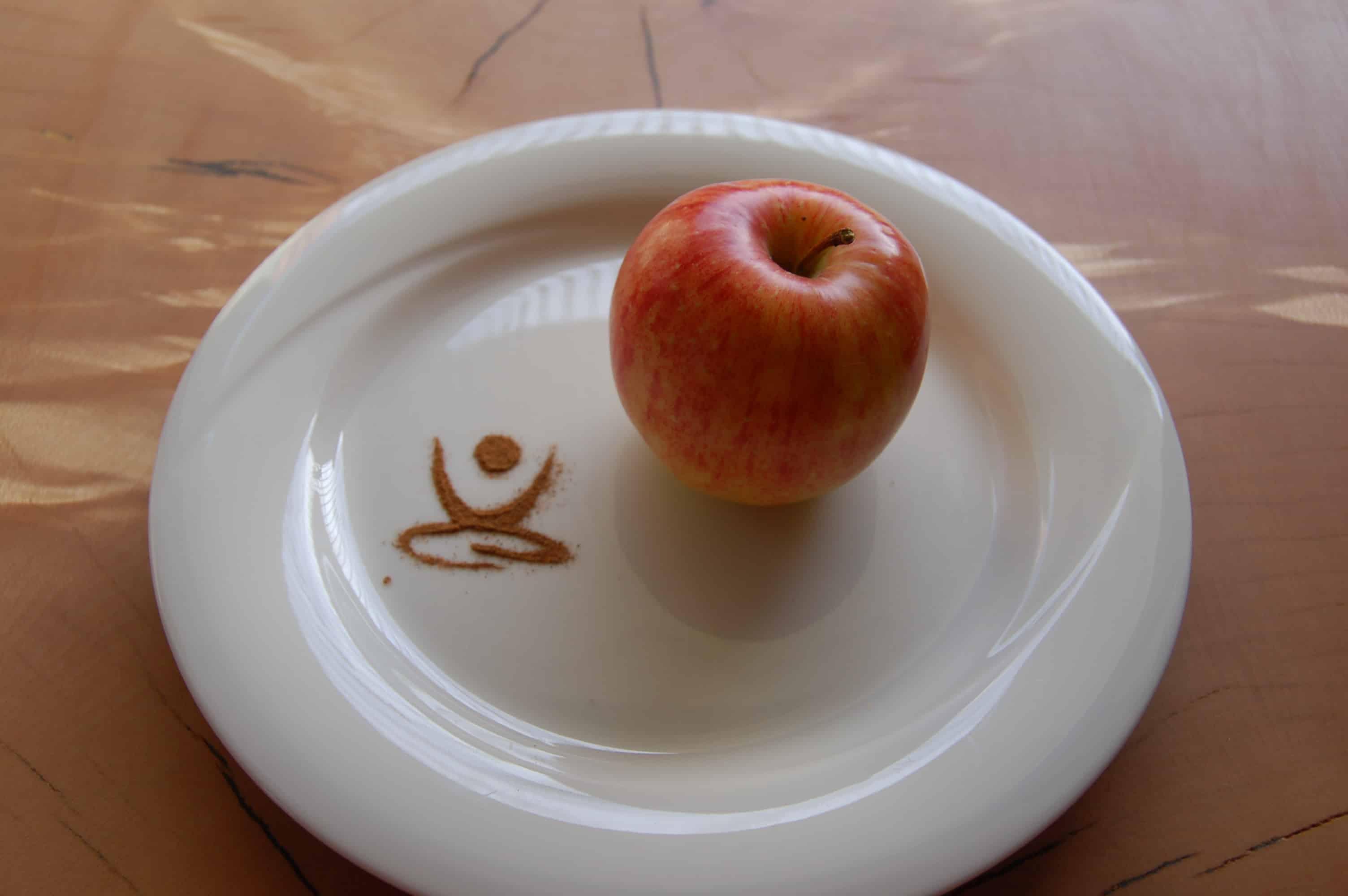 Fasten, Fastenbrechen, Fastenwoche, Beatebewegt, Apfel