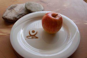 Fasten, Fastenbrechen, Apfel