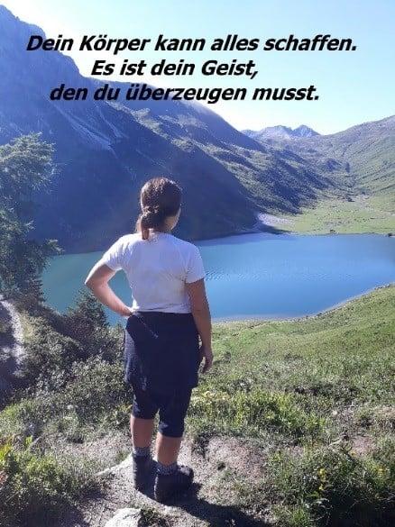 Fastenwandern, Fastenurlaub, Berge, Natur, Wandern