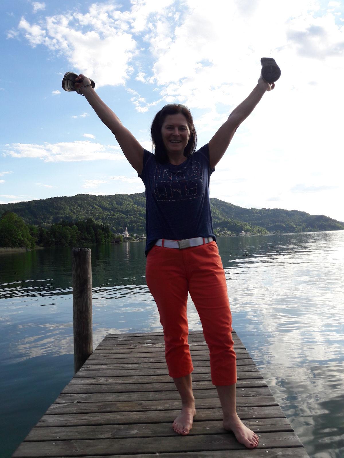 Fasten, See, Freiheit, Freude, Glück
